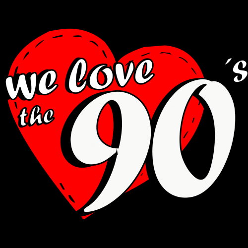 We love the 90's Party