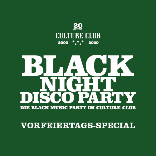 Black Night Disco – Vorfeiertags Special