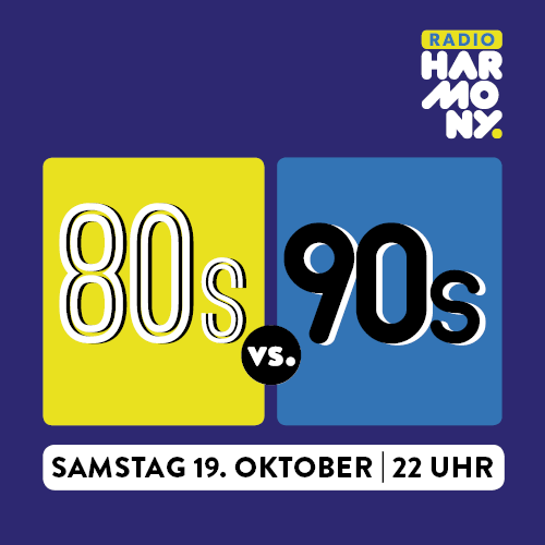 80s vs 90s Party powered by Harmony.fm