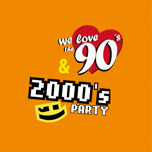 We love the 90s & 2000er Hits Party