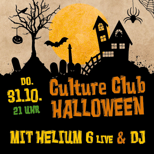 Halloween Party mit Helium 6 & DJ